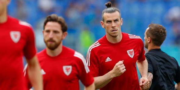 Joe Allen a Gareth Bale